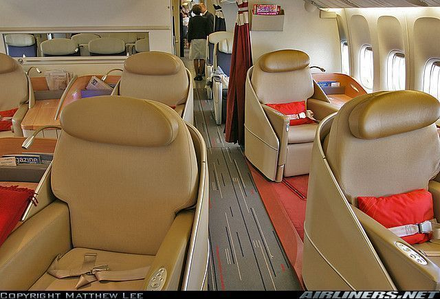 Boeing for Interieur airbus a340 600