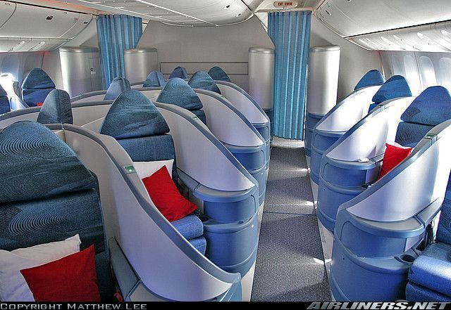 Interieure for Interieur boeing 757