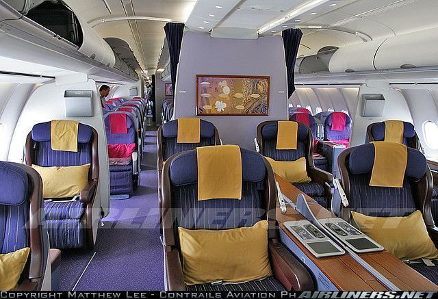 Airbus for Interieur airbus a340 600